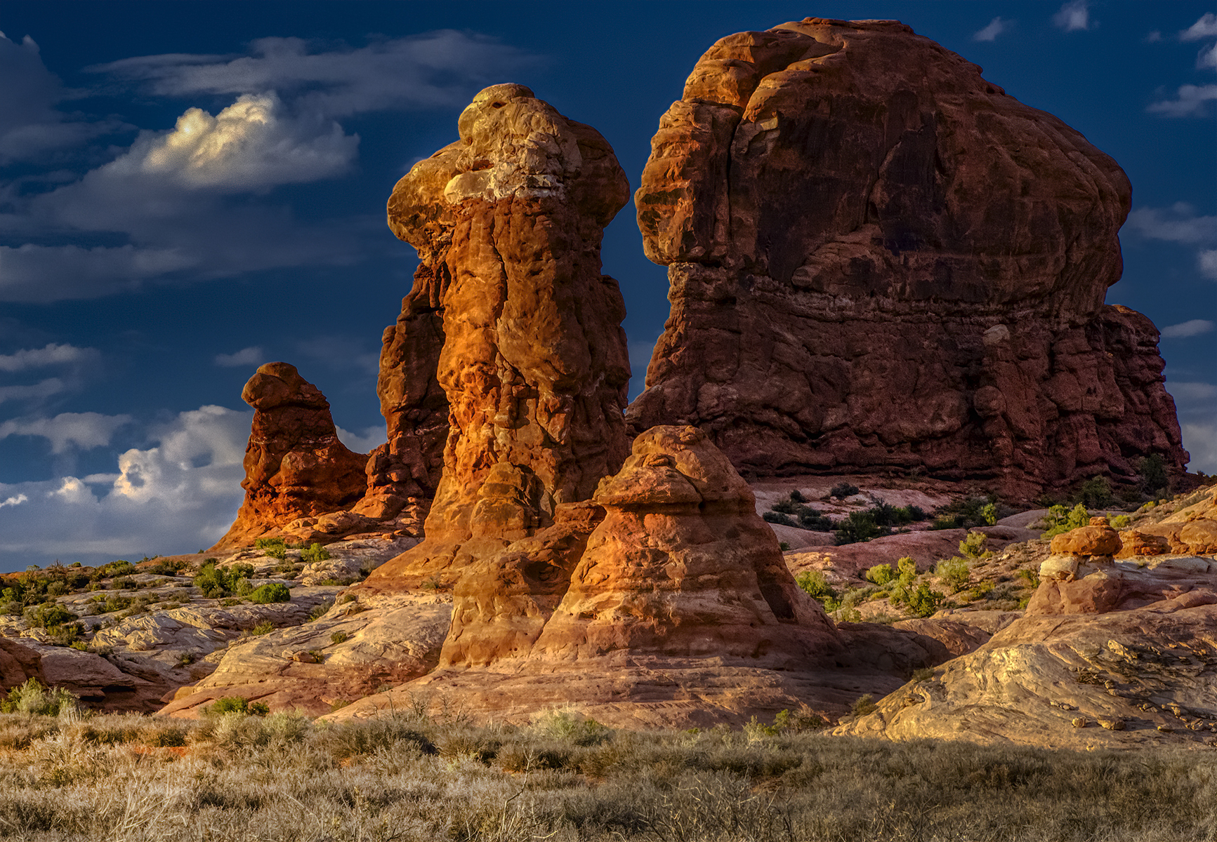 Golden Hour in Arches NP II