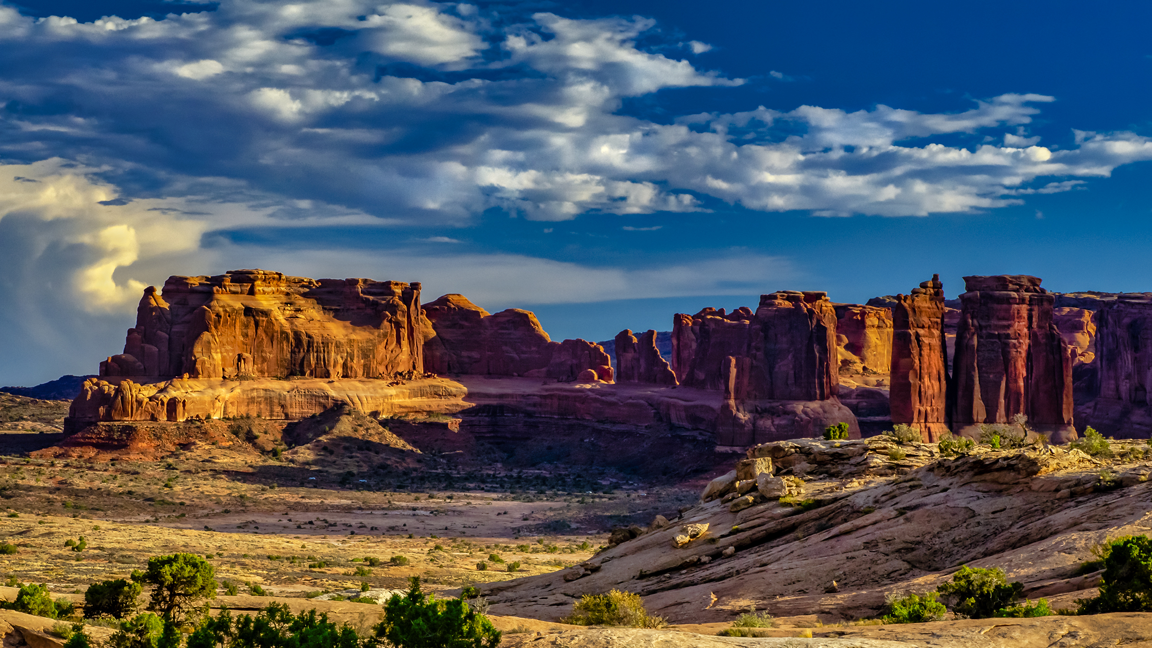 Golden Hour in Arches NP